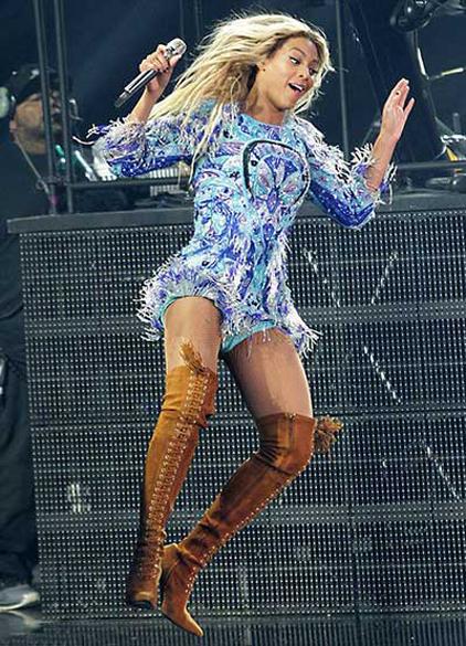 A foto original Beyoncé por completo