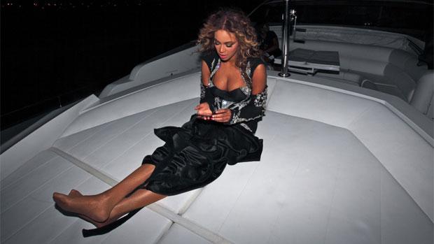 Beyoncé adora postar fotos pessoais na internet
