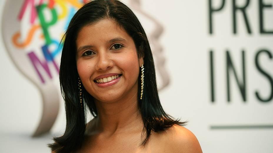Bianca Simãozinho, finalista do Prêmio Jovens Inspiradores