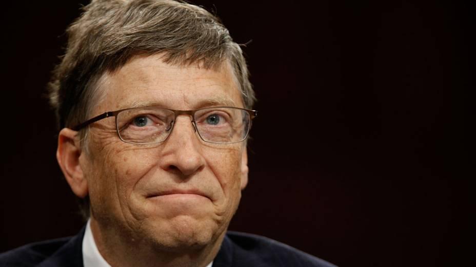 1º lugar: Bill Gates - US$ 76 bilhões
