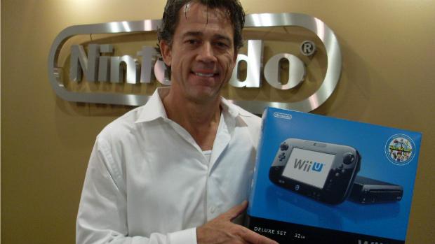 Bill van Zyll, gerente da Nintendo of America para América Latina