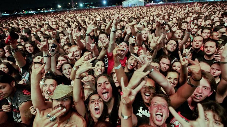 Apresentação do Black Sabbath em São Paulo
