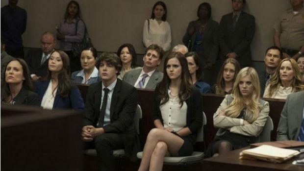 A atriz Emma Watson em cena do filme <em>Bling Ring: A Gangue de Hollywood</em>