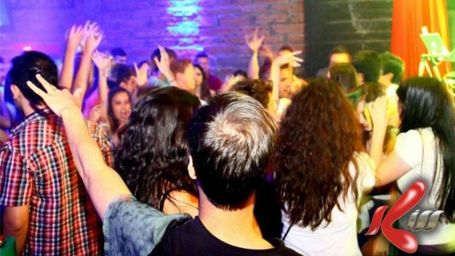 Imagem da boate Kiss, em Santa Maria, tirada na semana anterior ao incêndio