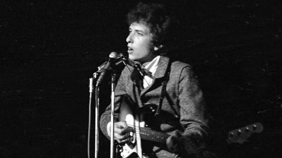 Bob Dylan se apresenta em Nova York, 1966