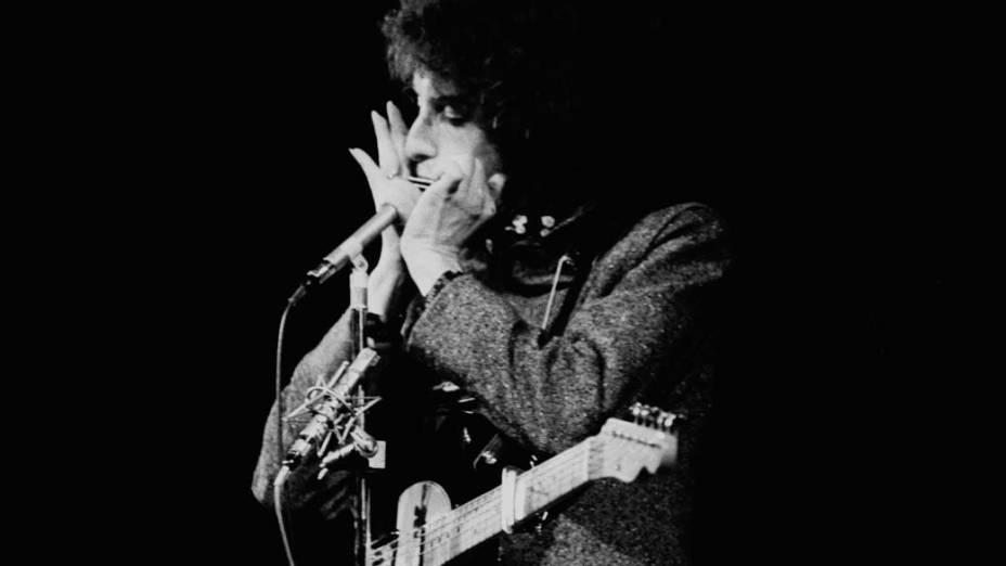 Bob Dylan se apresenta na Suécia, 1966