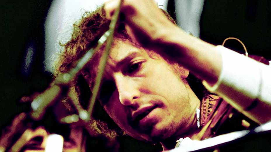 Bob Dylan se apresenta em Nova York, 1974