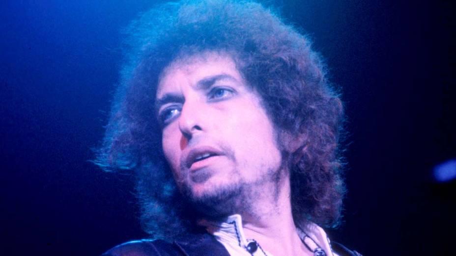 Bob Dylan se apresenta em Oakland, Califórnia, 1978