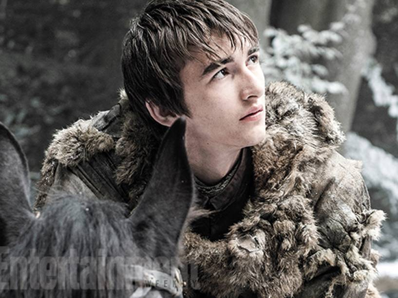 Bran Stark (Isaac Hempstead-Wright) na sexta temporada de Game of Thrones