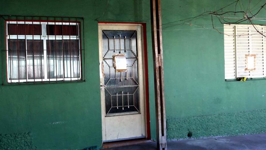 Casa do casal de policias no Bairro da Brasilândia, zona norte de São Paulo, amanhece lacrada