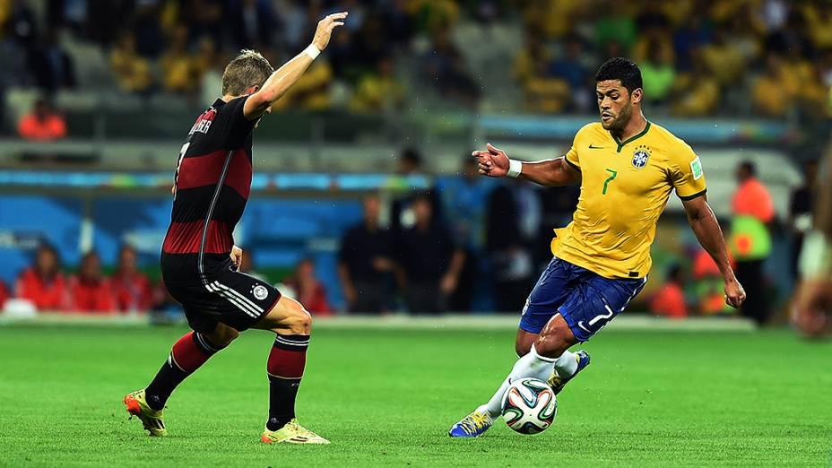 Hulk durante o jogo contra a Alemanha