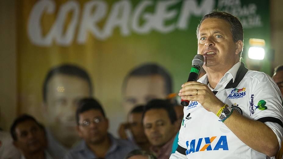 Eduardo Campos participa de uma reunião com produtores rurais em Arapiraca, em Alagoas