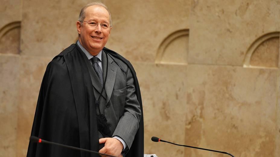 Ministro Celso de Mello, durante o julgamento do mensalão