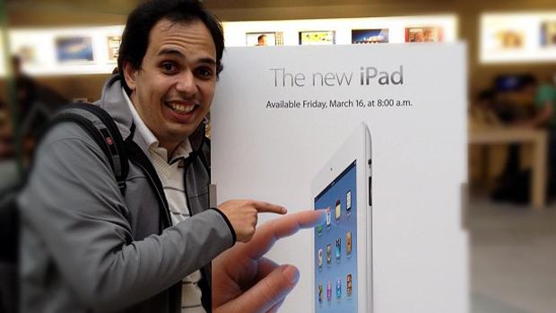 Masi: viagem a Nova York para ser um dos primeiros a comprar o tablet
