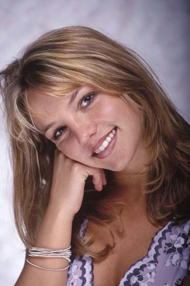 No início de sua carreira, em 1999: ainda com jeito de garota, ela se tornou um fenômeno da música pop