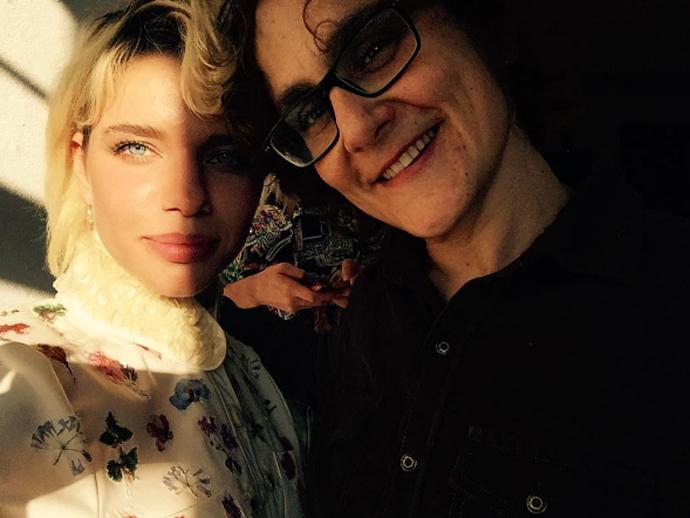 Atriz Bruna Linzmeyer e sua namorada, a diretora Kity Féo