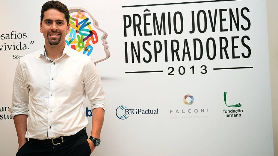 Bruno Gonçalves, finalista do Prêmio Jovens Inspiradores