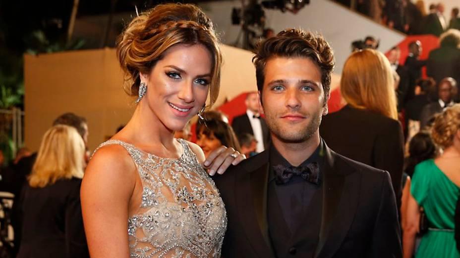 Bruno Gagliasso e Giovanna Ewbank no Festival de Cannes