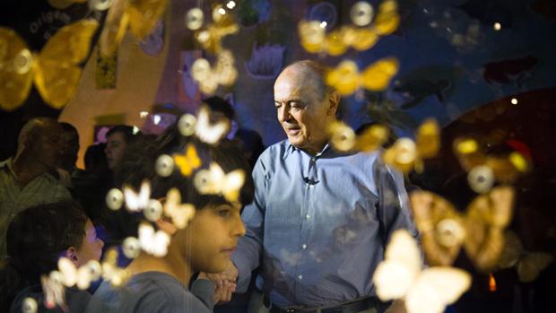 José Serra no Museu cata-vento, em São Paulo