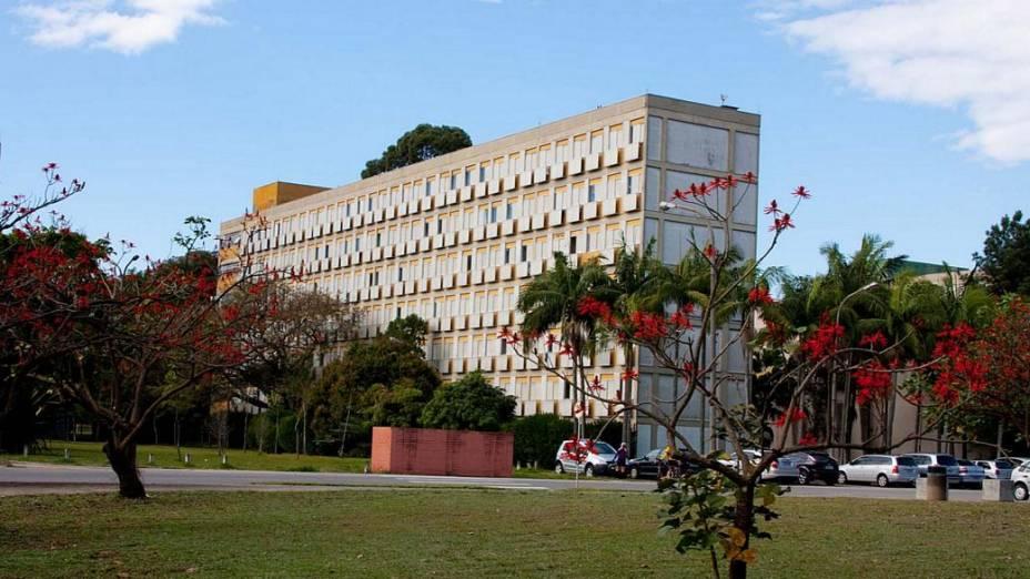 Campus da USP no bairro do Butantã, em São Paulo
