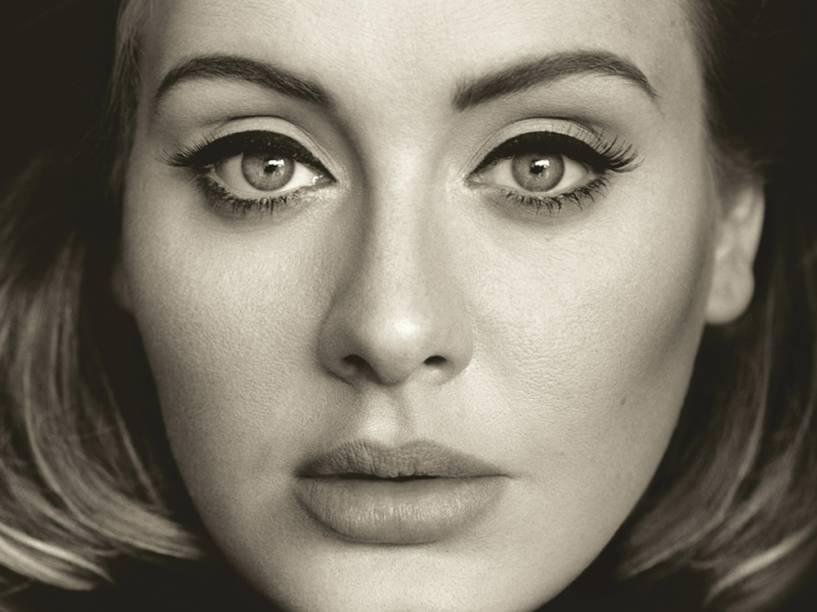 Capa do disco 25 de Adele