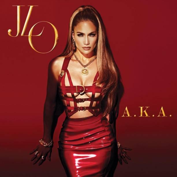 Capa do disco A.K.A. de Jennifer Lopez