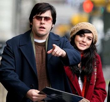 Lindsay Lohan com Jared Leto em cena de <em>Capítulo 27</em> (2007)