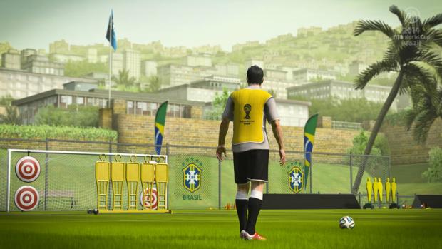 Captura de tela de FIFA World Cup 2014