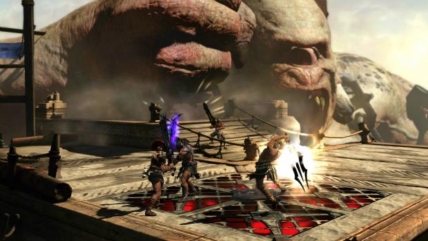 Captura de tela de God of War: Ascension