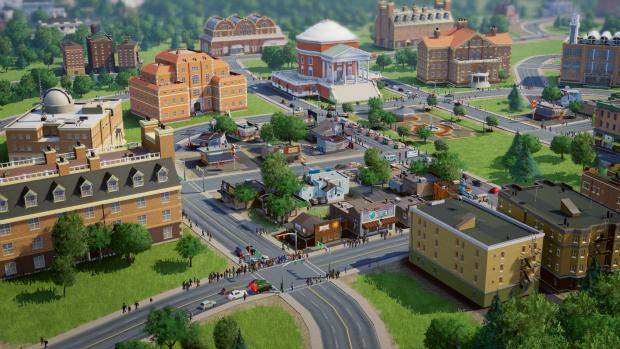 Captura de tela de SimCity