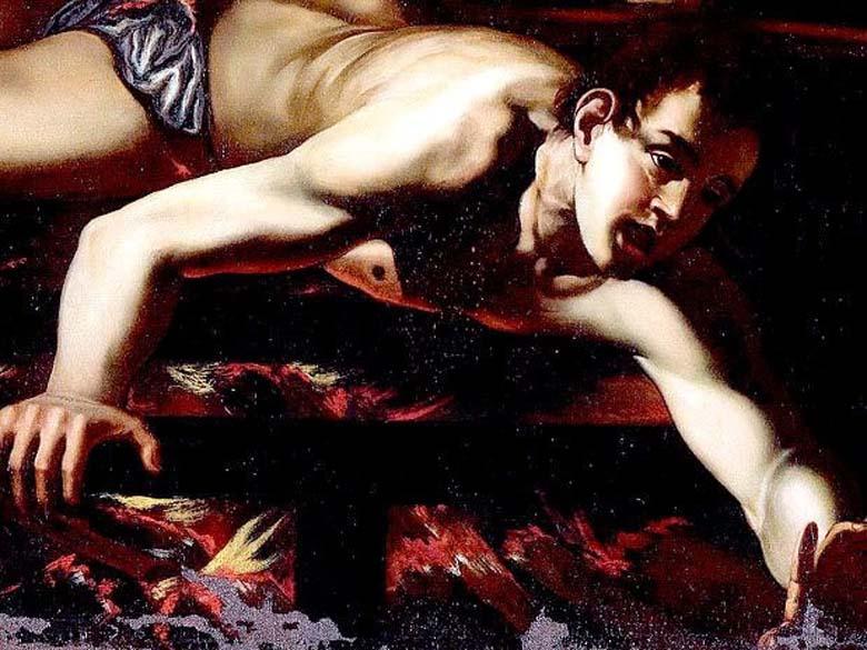 O Martírio de São Lourenço, foi recentemente atribuída a Caravaggio. Todavia, ainda não foram concluídas as análises que certificam a autoria da pintura