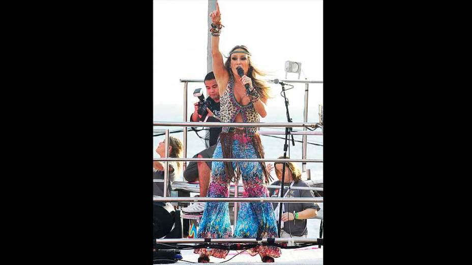 Show de Claudia Leitte no Farol da Barra, em Salvador