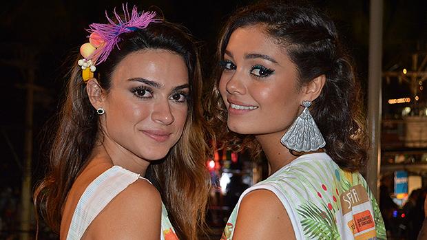 Thaila Ayala e Sophie Charlotte Carnaval de Salvador, em 28/02/2014