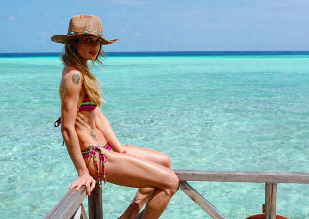 Carol Magalhães aproveita férias em Maldivas