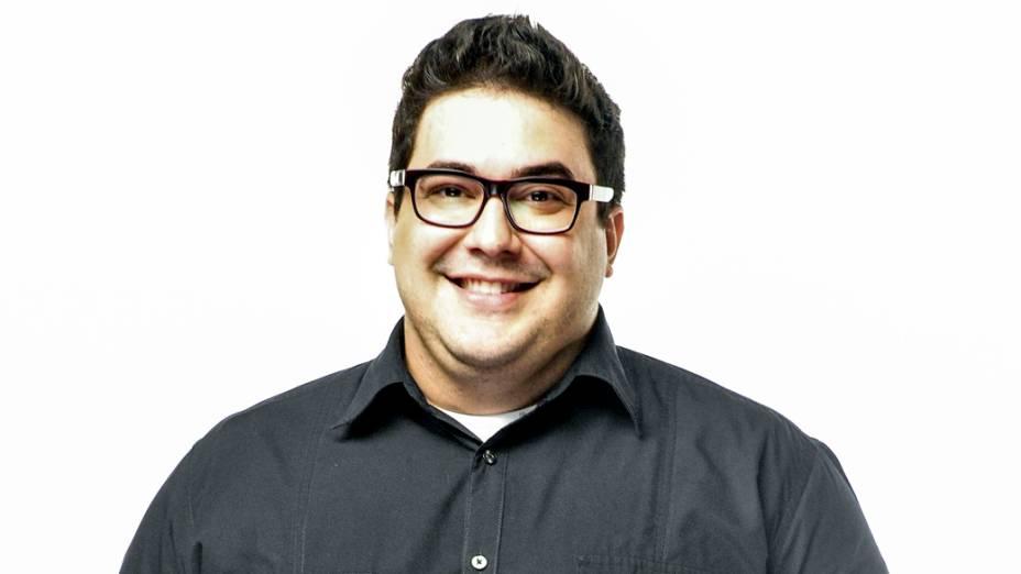 O apresentador André Marques