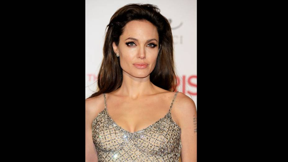 Angelina Jolie participa de estréia de O Turista no Palacio de los Deportes, em Madrid, Espanha
