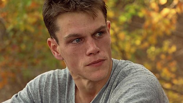 Matt Damon no filme Coragem Sob Fogo (1996)