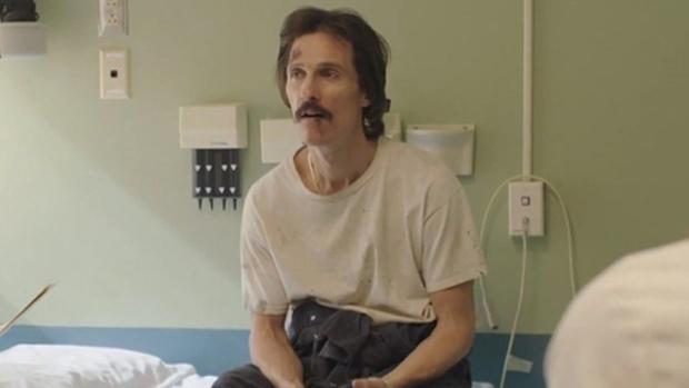 Matthew McConaughey no filme Dallas Buyers Club (2013)