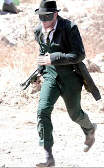 Seth Rogen no filme O Besouro Verde (2011)