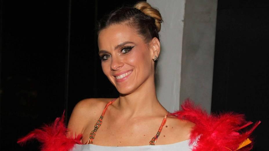 Carolina Dieckmann no carnaval de Salvador