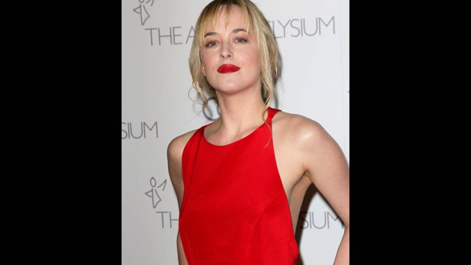 Dakota Johnson no evento Art of Elysiums de 2012