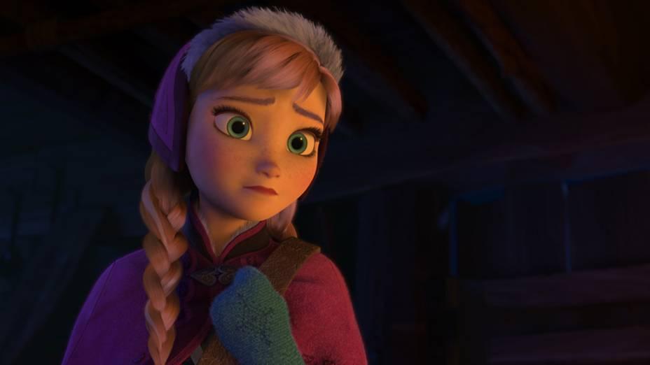 Cena do filme Frozen: Uma Aventura Congelante, nova animação da Disney
