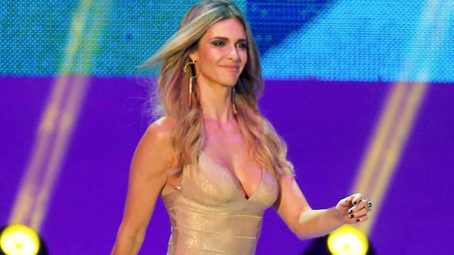 Fernanda Lima é a apresentadora do sorteio dos grupos da Copa de 2014