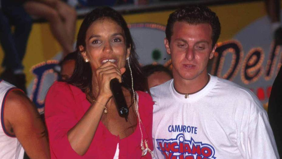 Ivete Sangalo no Carnaval de Salvador, em 1999