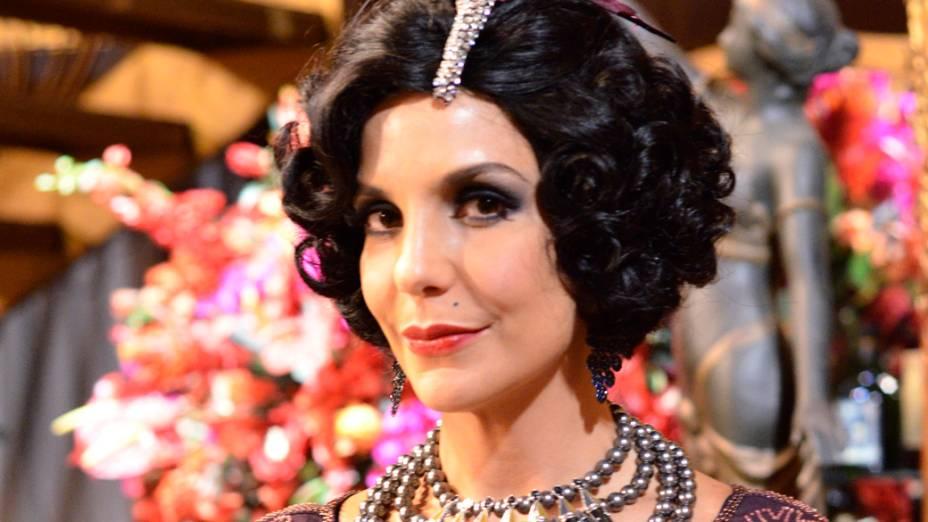 Ivete Sangalo como Maria Machadão, na novela Gabriela, da Globo