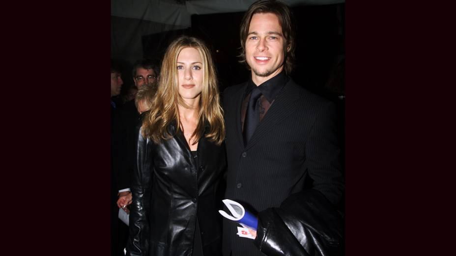 Jennifer Aniston e Brad Pitt em 2000