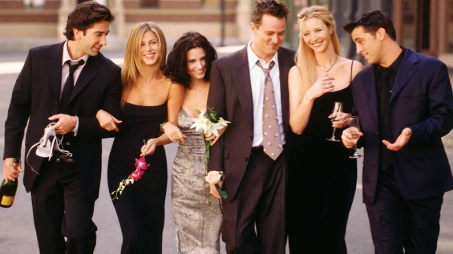 Jennifer Aniston no seriado Friends