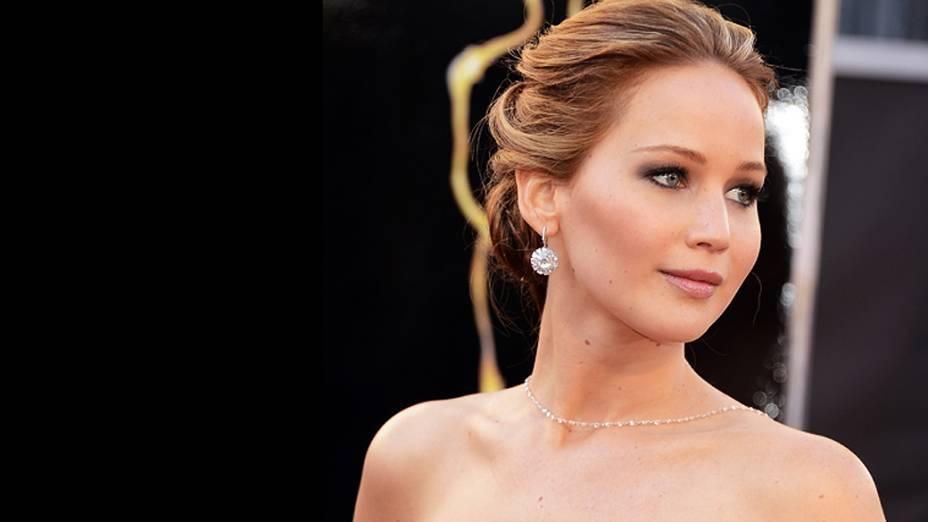 Jennifer Lawrence vencedora do Oscar 2013 de Melhor Atriz por O Lado Bom da Vida