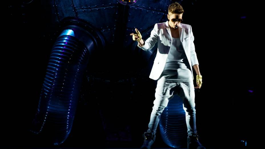 <p>Show de Justin Bieber em Madri</p>