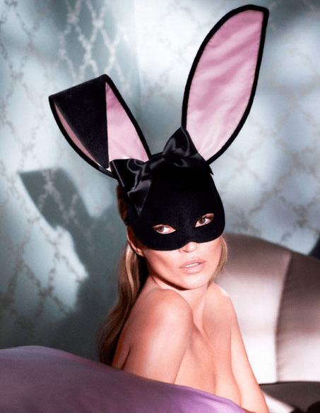 Kate Moss em ensaio para a revista Playboy